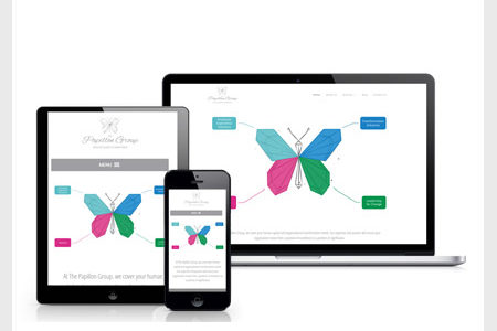 THE PAPILLON GROUP Website